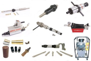 Tube removal tools for heat exchangers and boilers.