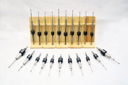 Tube expanders of different size and configuration.
